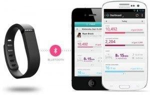 Pulsera inalámbrica Fitbit Flex 4