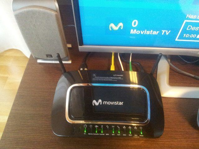 Comparativa Routers Fibra óptica Movistar TV
