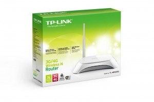 Router inalámbrico N 3G 4G TL-MR3220 caja