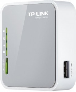Router inalámbrico TP-LINK TL-MR3020 N 3G 4G