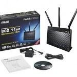 El mejor router wifi para una casa de dos plantas, router ASUS RT-AC68U