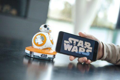 Cabecera del Robot BB8 Star Wars