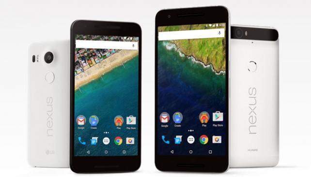 Nexus 6P y 5X