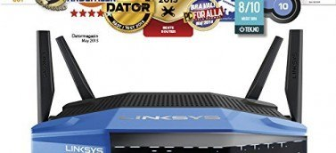 Router Linksys WRT1900AC premios