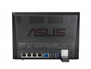 Router ASUS RT-AC56U trasera