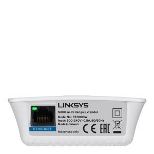 Extensor de red WiFi Linksys RE3000W-EJ - conector Ethernet