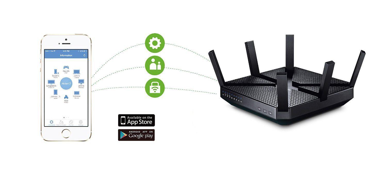 Router más potente TP Link Archer C3200 app