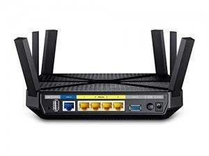 Router más potente TP Link Archer C3200 foto trasera