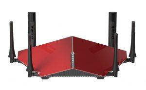 los mejores routers wifi de 2016 - mejor router tribanda de 2016 - Router Ultra WiFi D-Link DIR-890L AC3200