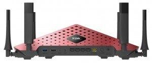 mejor router tribanda de 2016 - Router Ultra WiFi D-Link DIR-890L AC3200 - parte trasera