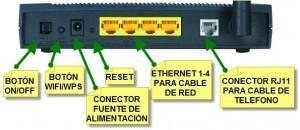 Cómo solucionar los problemas de un router - boton encender router wifi