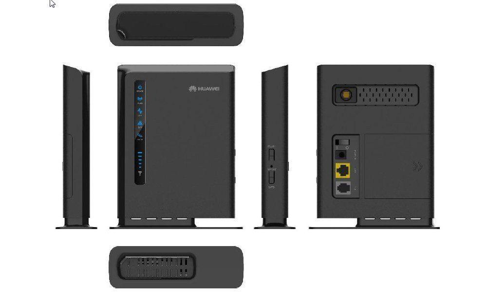 Router Huawei 4G LTE E5172 vistas