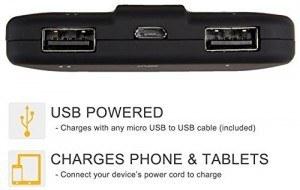 cargador de batería móvil externo en Amazon 10000 mAh
