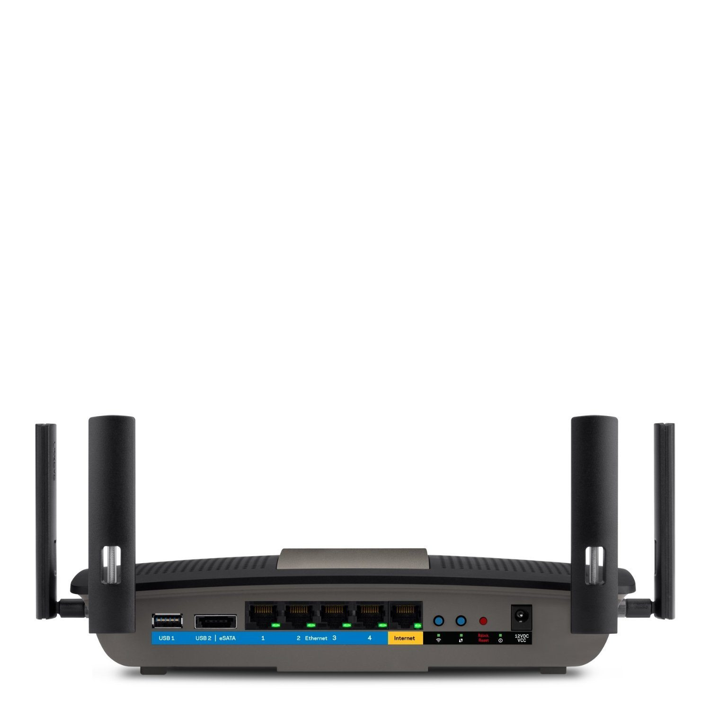 router WiFi Linksys E8350-EJ - parte trasera