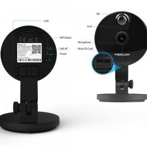 Cámara IP WiFi Foscam C1 HD - características