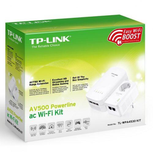 Extensor de red PLC TP-LINK TL-WAPA4530 - cabecera