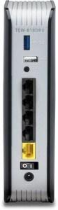 Mejor router TRENDnet AC1900 - trasera