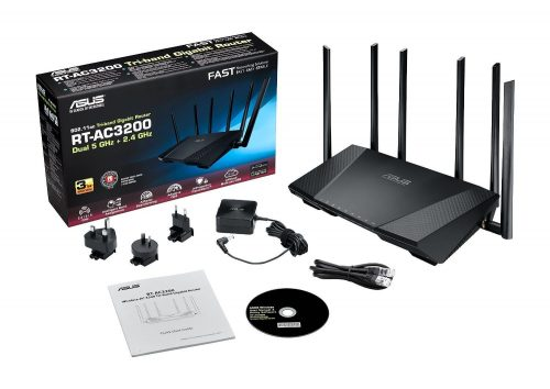 Router WiFi Asus RT-AC3200 - cabecera