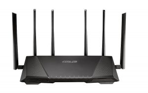 Router WiFi Asus RT-AC3200 - frontal