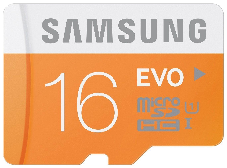 Tarjetas de memoria SD Samsung EVO - 16GB