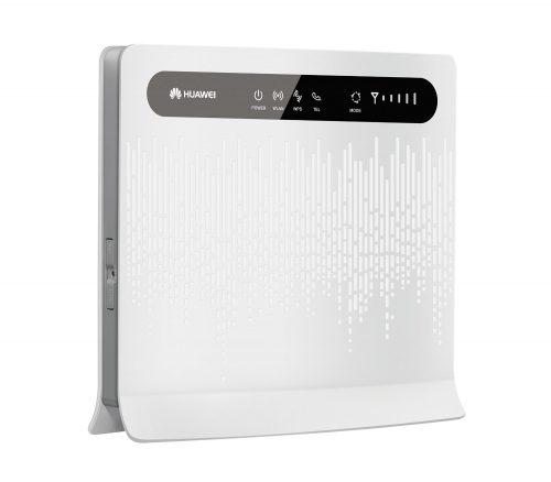 router 4G Huawei B593 - cabecera