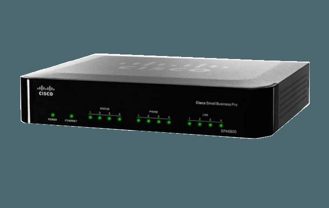 Adaptador para telefonía IP Cisco SPA112 - cabecera