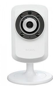 Cámara WiFi de vigilancia con visión nocturna D-Link DCS-932L