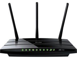router wifi para fibra óptica de Movistar - Router TP-Link Archer C7 AC1750