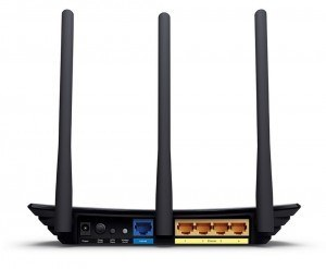 Router wifi de 300 Mbps TP-Link TL-WR940N - parte trasera