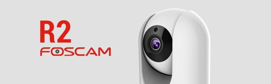 cámara de vigilancia interior WiFi Foscam R2 - cabecera