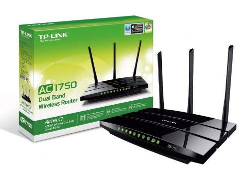 router TP-Link Archer C7 AC1750 - cabecera