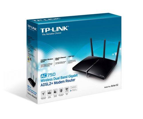 router TP Link Archer D2 para ver películas online - cabecera