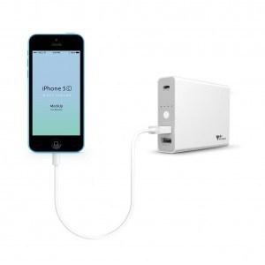 Batería externa Power Bank de 12000 mAh - iphone