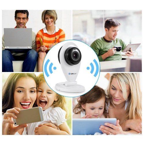 Cámara WiFi de vigilancia SUNLUXY SL-C708 - cabecera