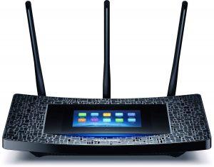 Router TP-Link AC1900 Mbps con pantalla táctil