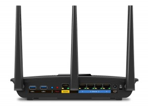 Router wifi Linksys EA7500 - trasera