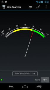 Probar la cobertura WiFi en una casa de pueblo - wifi analyzer app velocidad