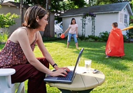 conexion a internet en el exterior de casa
