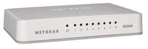 conectar en red hasta 8 dispositivos-switch prosafe gigabit de netgear