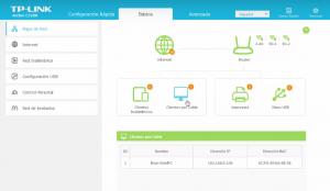 Configuración del firmware del TP Link clientes por cable