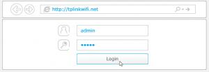 Configuración rápida del Router TP Link Archer C3200 - Login