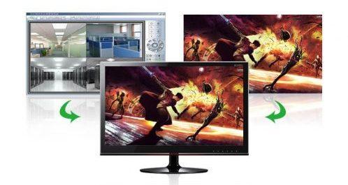 conectar una pantalla a 2 ordenadores - Conmutador VGA UGREEN 2