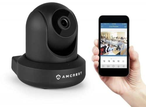 Cámara de vigilancia WiFi Amcrest ProHD cabecera